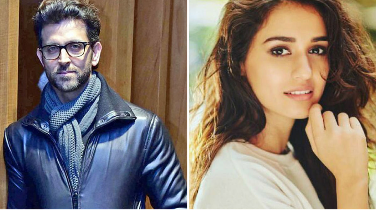 Disha Patani and Hrithik Roshan are embroiled in a controversy.