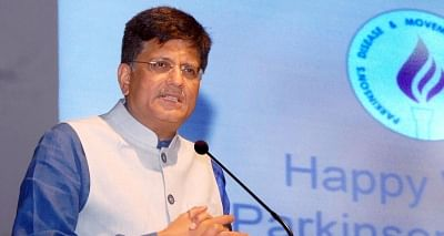 Union Minister of State (Independent Charge) for Power, Coal and New and Renewable Energy and BJP leader Piyush Goyal. (File Photo: IANS)