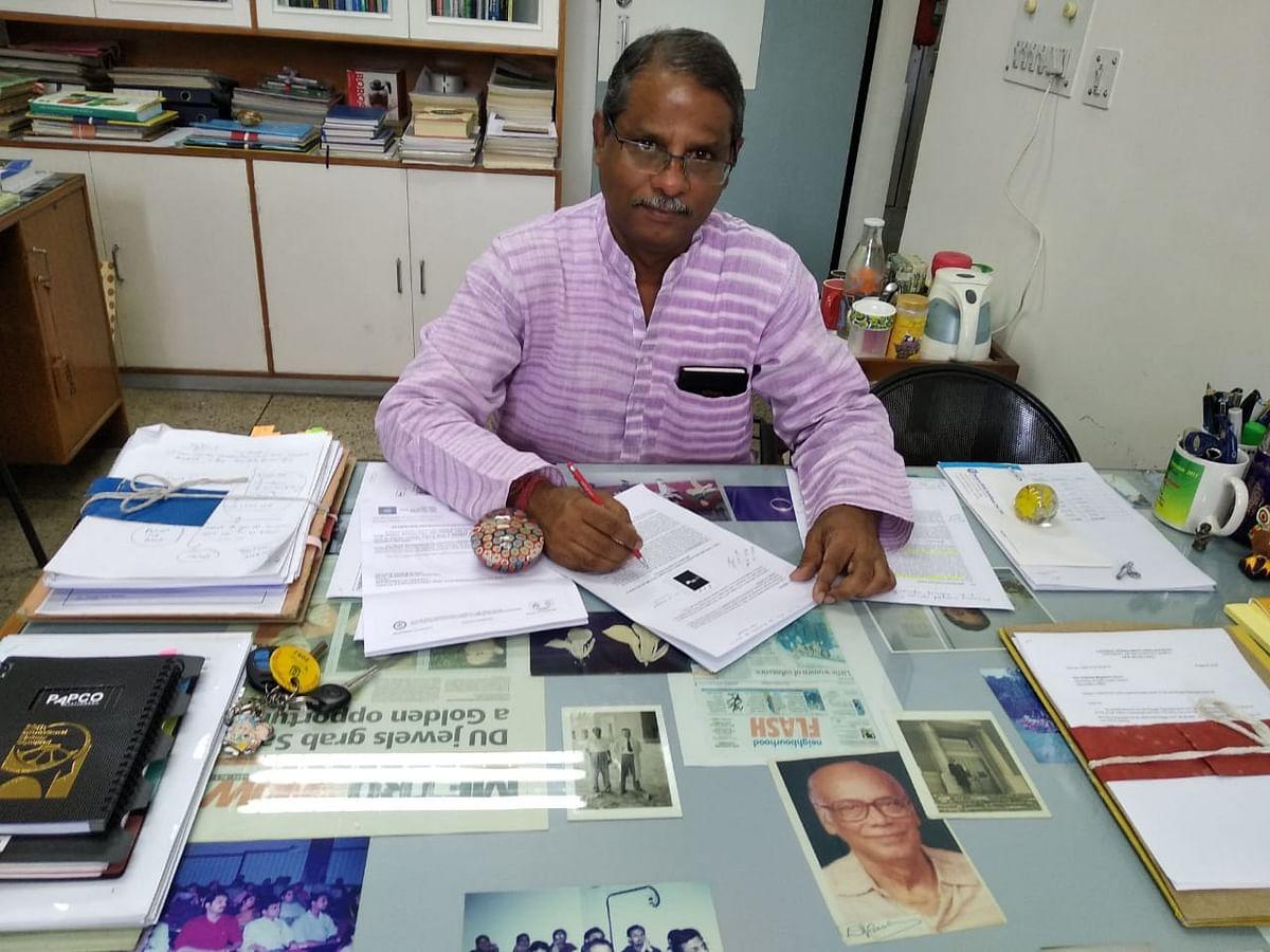 Pradeep Burma, professor and head of the department of genetics, Delhi University