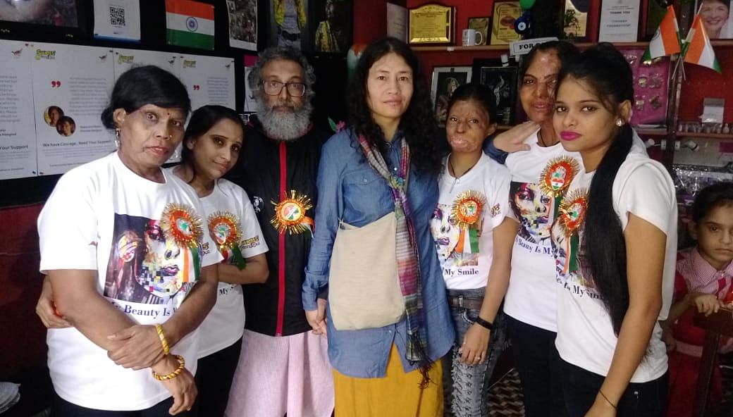 Irom Sharmila Urges Acid Attack Survivors to Rise Up Against AFSPA