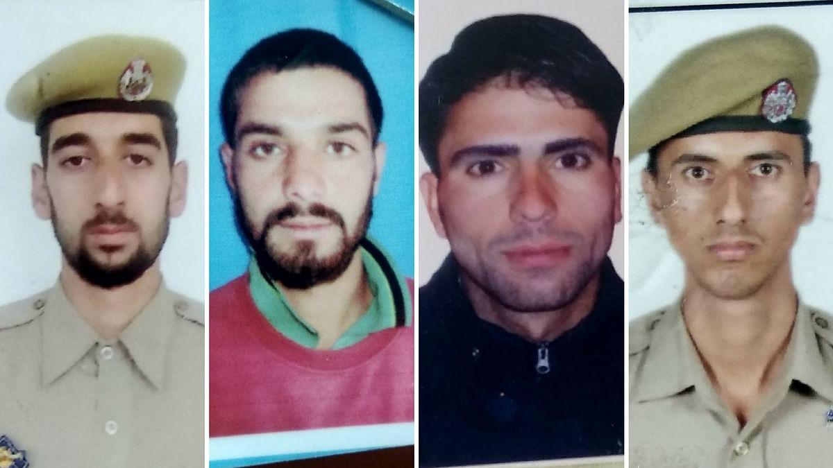 Four J&K Cops Shot Dead in Encounter With Terrorists in Shopian