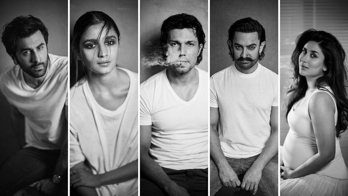 Head shots of Ranbir Kapoor, Alia Bhat, Randeep Hooda, Aamir Khan and Kareena Kapoor Khan shot by Rohan Shrestha.