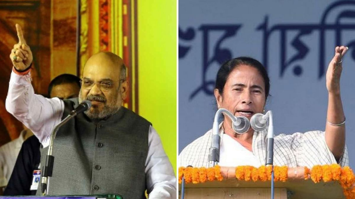 Chanting Jai Shri Ram, Arrest Me if You Have Guts: Shah to Mamata