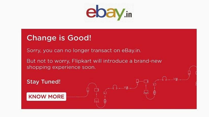 So long, Ebay India.
