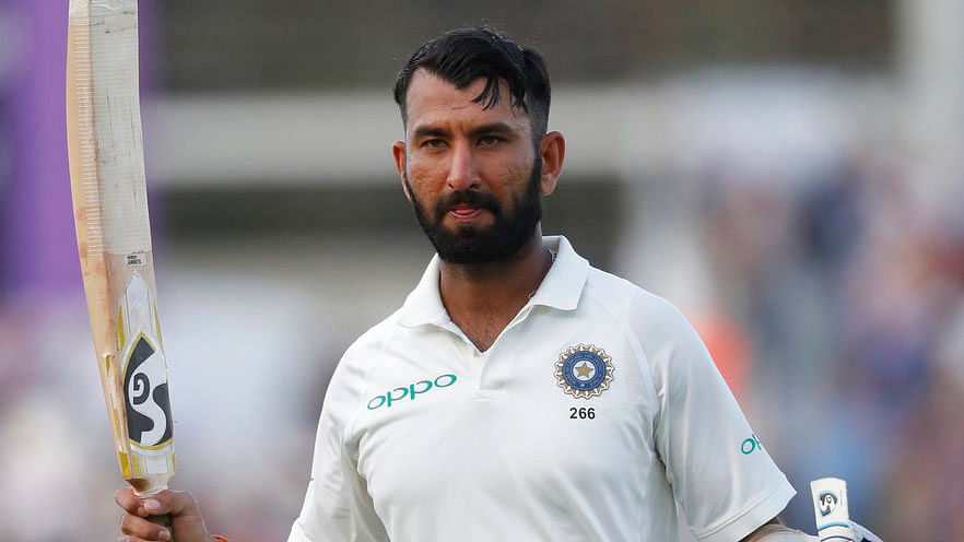 Pujara's Gritty Century Helps India Attain Lead Against England