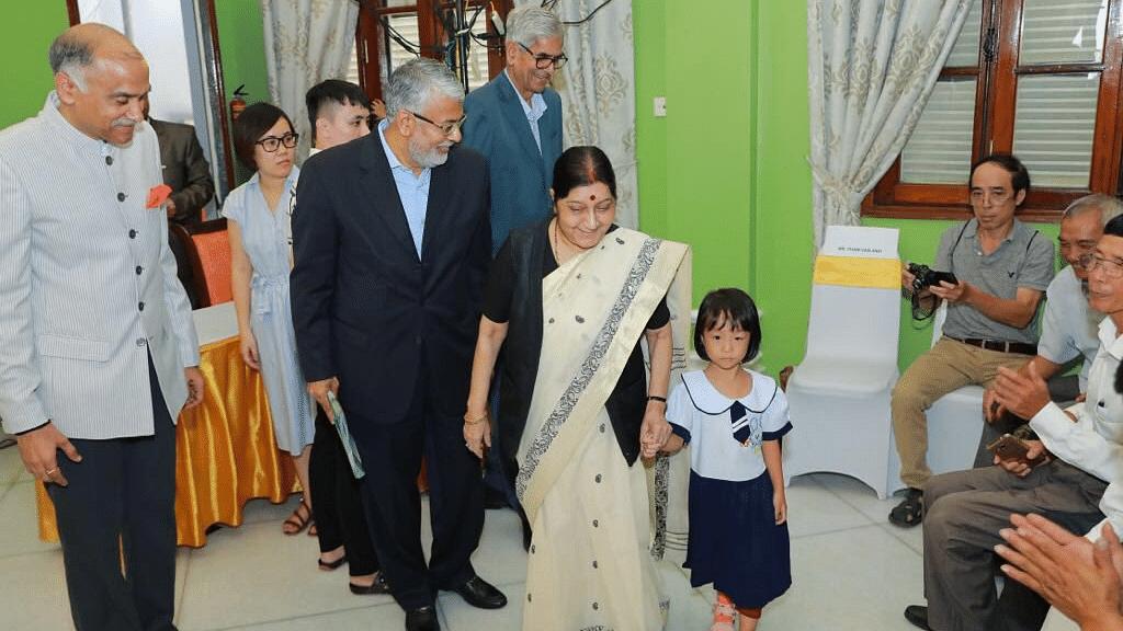 Sushma Swaraj Calls For Regional Peace at Indian Ocean Conference