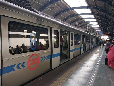 Delhi Metro. Representational Image.