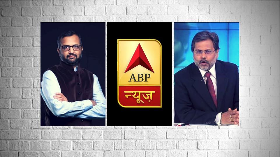 "ABP News' Managing Editor Milind Khandekar and primetime anchor Punya Prasun Bajpai have tendered their resignations amid allegations of ""pressure from the Centre""."
