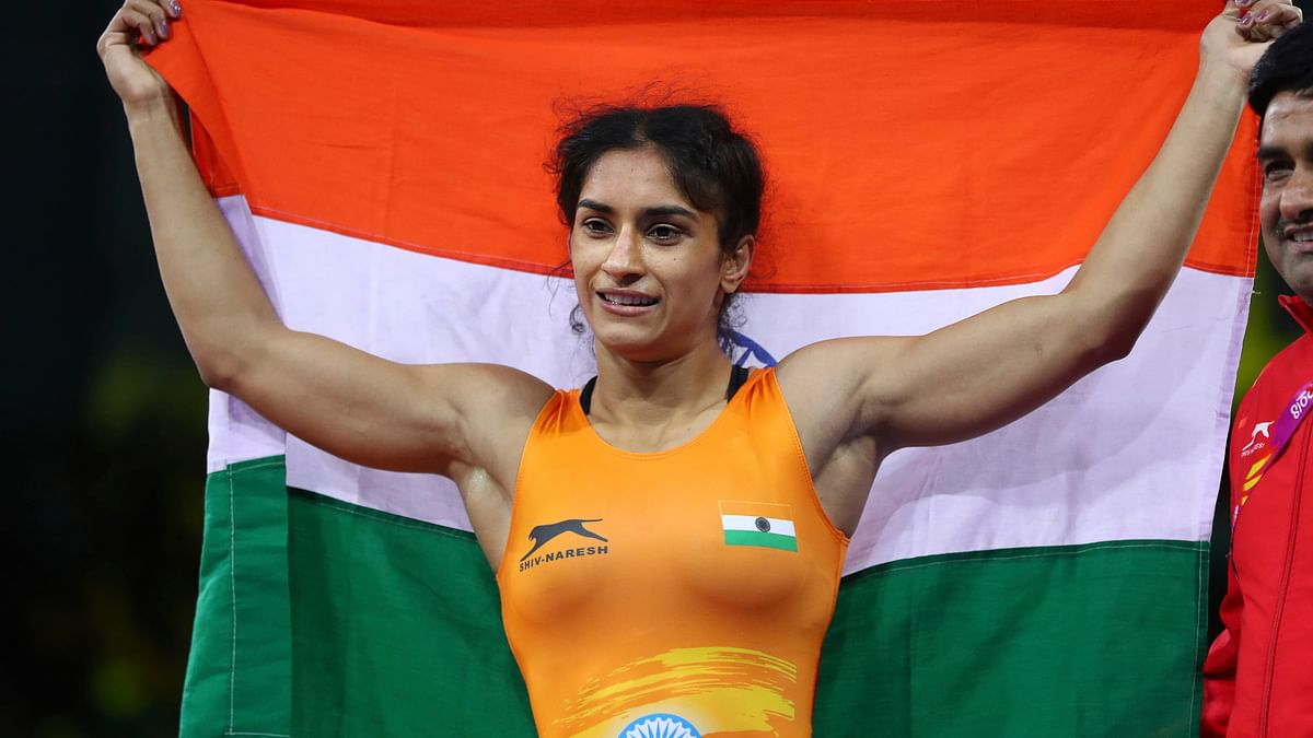 Vinesh Phogat won a gold medal in both the Asian and the Commonwealth Games in 2018.