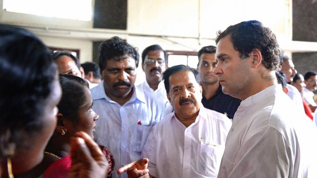 'Salute Fishermen For Their Bravery': Rahul Gandhi in Kerala