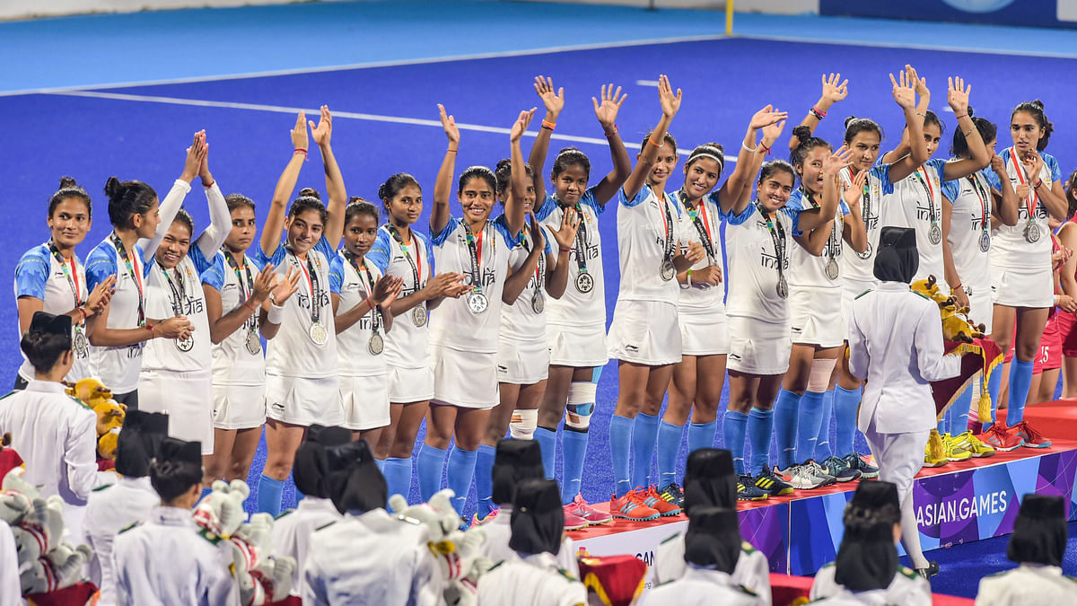The Indian women's hockey team settled for silver after losing to Japan in the final.