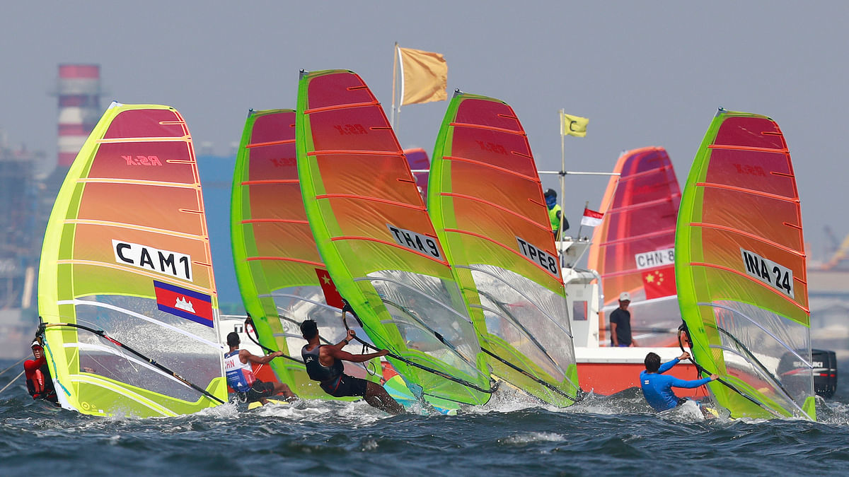India have won three medals in sailing on Day 3 of the 2018 Asian Games.