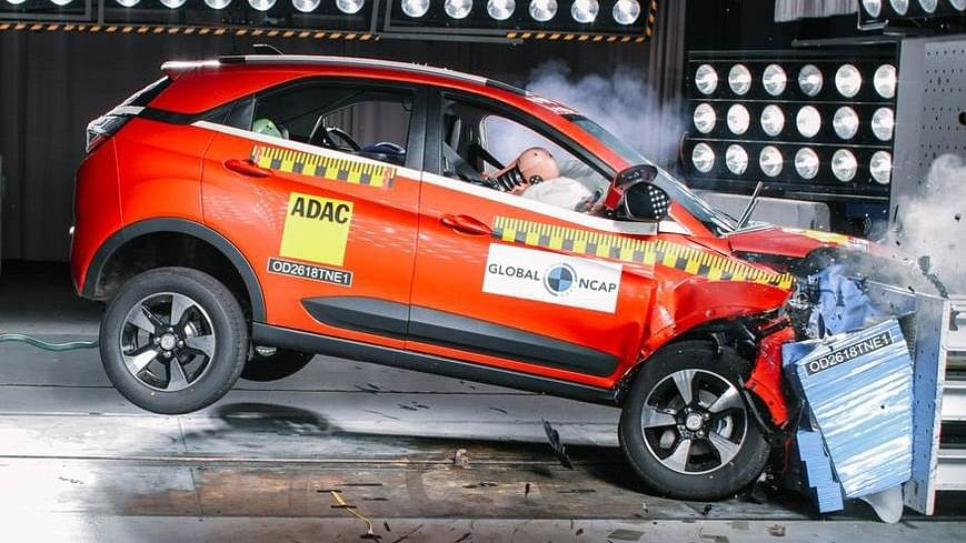 Tata Nexon Scores Four-Stars in Global NCAP Crash Test Rating