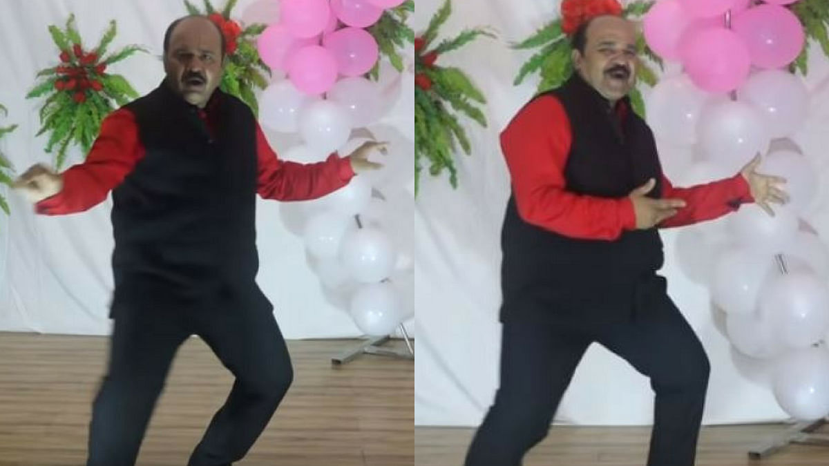 Internet's favourite 'Dancing Uncle' is back!