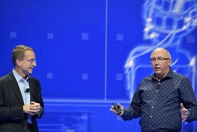 Las Vegas: VMware CEO Pat Gelsinger with CTO Ray O