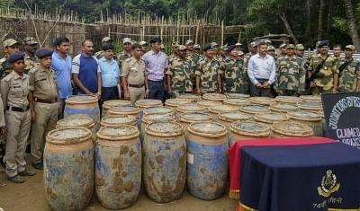 Record 3,350 kg ganja haul in Tripura: Police