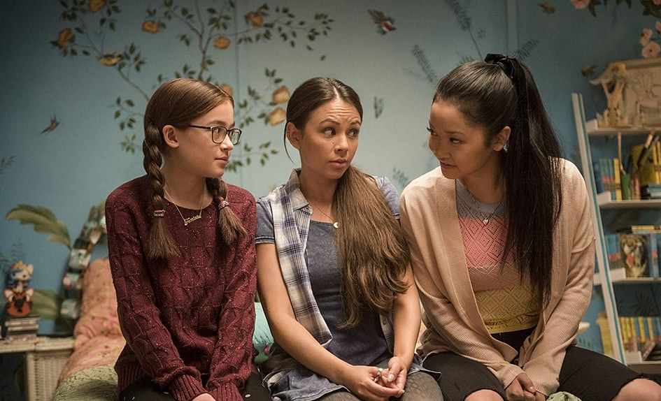 A still from <i>To All the Boys I've Loved Before</i>.