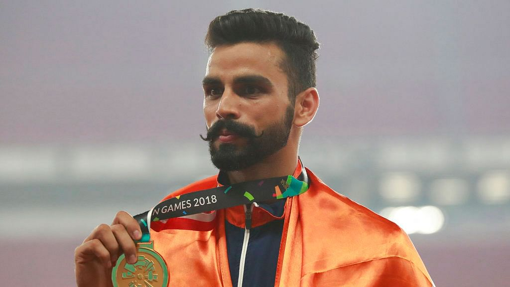 Arpinder Wins Gold in Triple Jump, Bags First Asian Games Medal