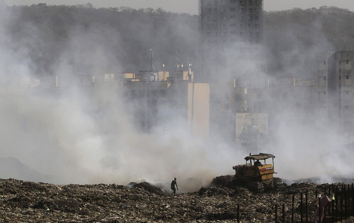 A massive fire that broke out at the Deonar dumping ground in 2016