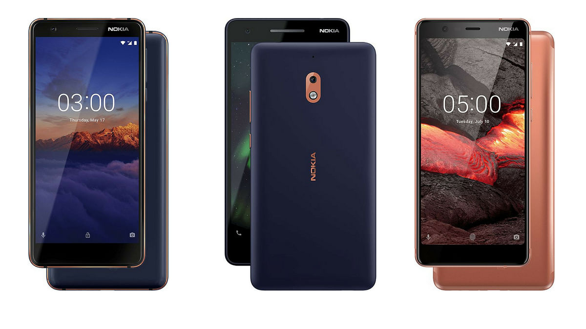 Nokia's Newly Launched 5.1, 3.1 and 2.1 Phones Now in Stores