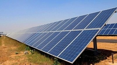A solar power plant. Image used for representational purpose.