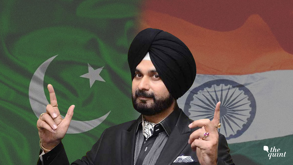 Those Slamming Sidhu's Visit to Pakistan May Be Doing Him a Favour