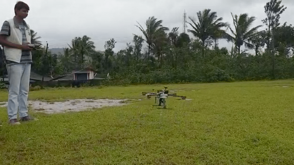 #GoodNews: Trio Hopes to Rescue People in Kodagu With Drones
