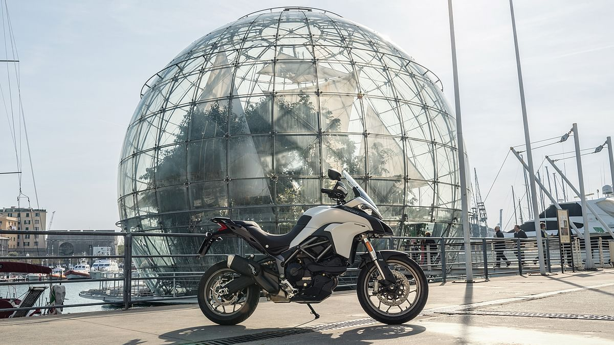 Launched in 2017, the multistrada 950 was Ducati's attempt to make adventurer tourers lighter, more accessible and affordable.