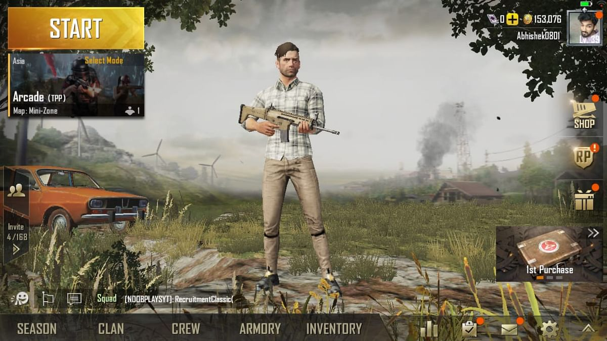 PUBG Lite is available for phone with light hardware.