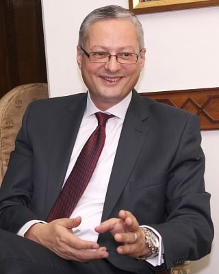 Ambassador of Egypt to India Hatem Tageldin. (Photo: Amlan Paliwal/IANS)