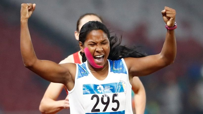 Swapna Overcomes Pain to Win India's 1st Heptathlon Gold at Asiad