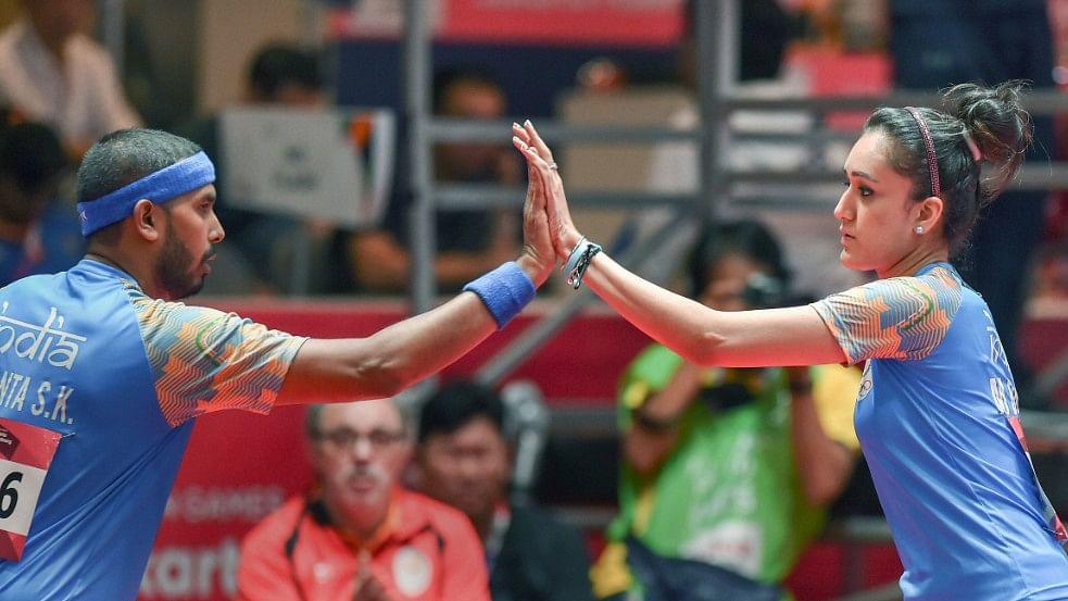 Sharath Kamal & Manika Batra Earn TT Mixed Doubles Olympics Berth