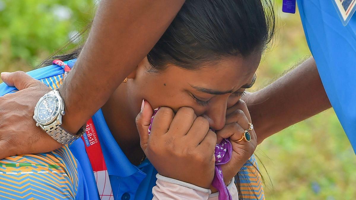 Archer Deepika Kumari Inconsolable After Shock Loss to Mongolia