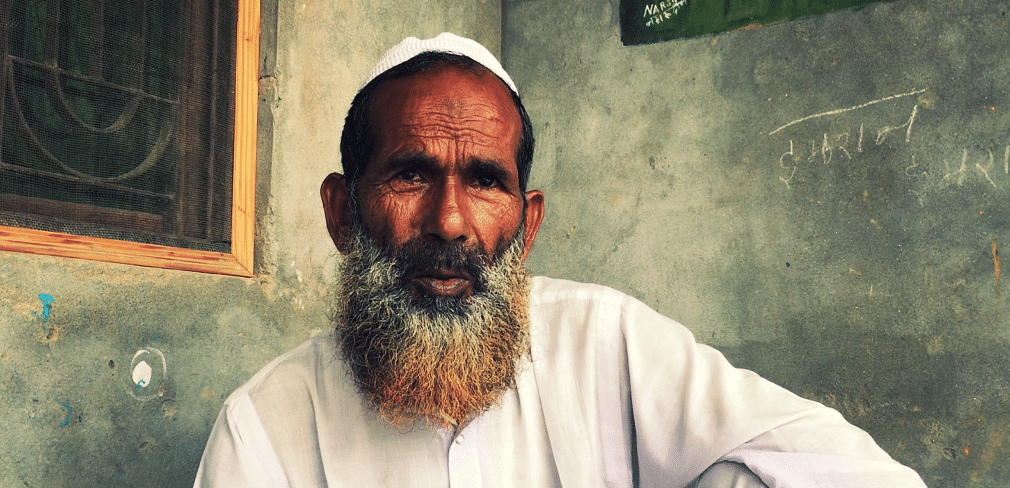 This is Haziman Ali, the 60-year-old father-in-law of one of the five Muslim rape survivors. Sadly, she died during childbirth in 2017.