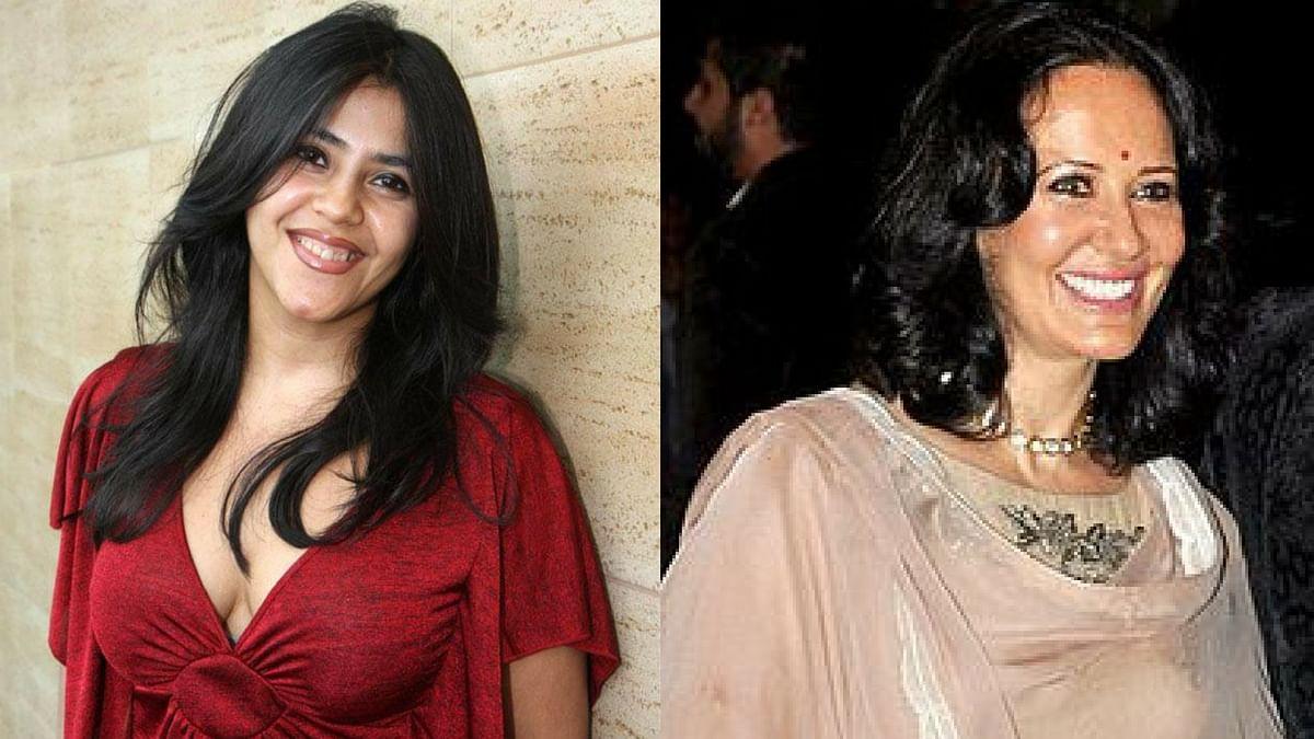 Ekta Kapoor and Ayesha Shroff argue over nepotism on Instagram.