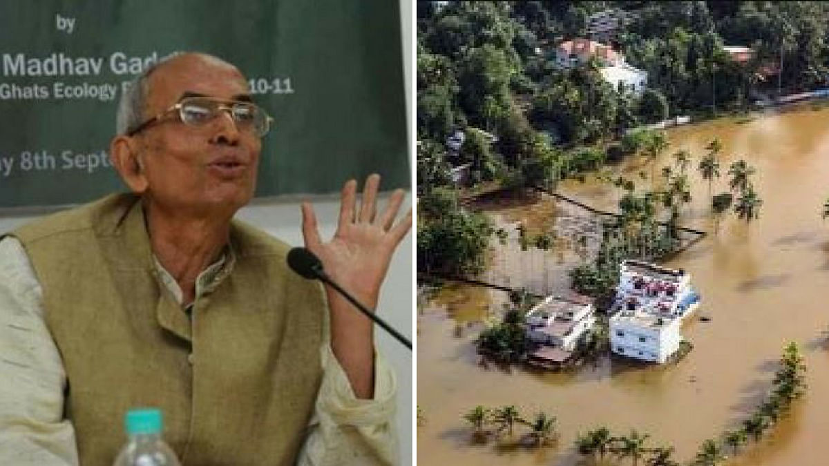 Ecologist Madhav Gadgil in his report had warned against the damage to the environment in Kerala.