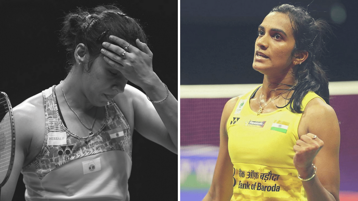 Saina Nehwal (left) and PV Sindhu have been handed stiff draws at the upcoming All England Championships 2019.