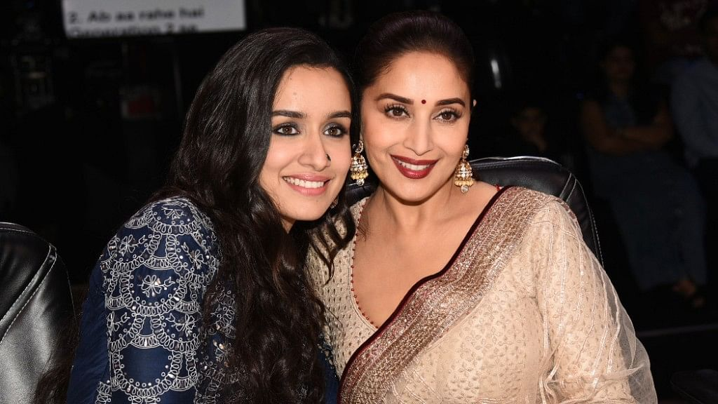 Bonding time for Shraddha Kapoor and Madhuri Dixit.