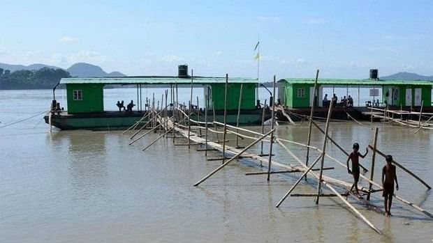 China Issues Flood Alert in Brahmaputra, India Says Don't Panic