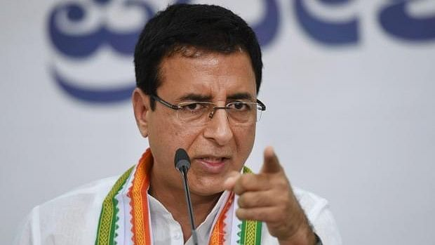 """Surjewala described the ruling party's national executive as """"arrogance Modi-fied"""" and """"Shahi arrogance""""."""