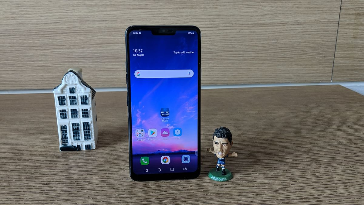 LG G7+ ThinQ is another contender in the affordable flagship segment.