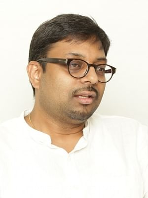 New Delhi: Filmmaker Dipesh Jain at IANS Office in New Delhi, on Aug 31, 2018. (Photo: Amlan Paliwal/IANS)