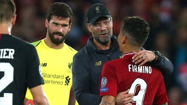 In the dying minutes, Firmino collected a pass from Virgil van Dijk and fired a low shot into the far corner to seal the victory for Liverpool.