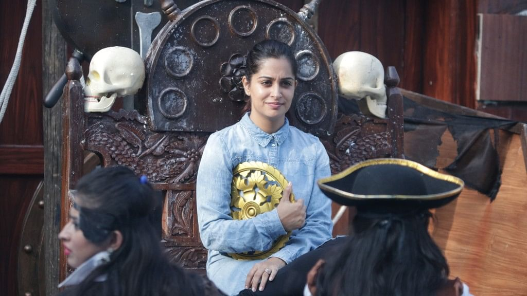 Dipika Kakkar during a task in <i>Bigg Boss 12</i>.&nbsp;