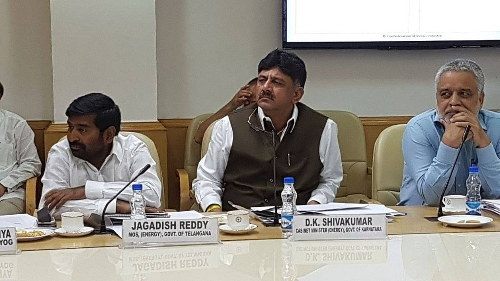 Karnataka'S water resources minister DK Shivakumar, the Enforcement Directorate filed a case against him in money laundering case.