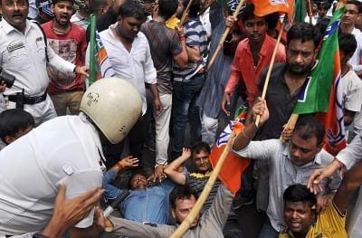 Sporadic violence during BJP's Bengal shutdown