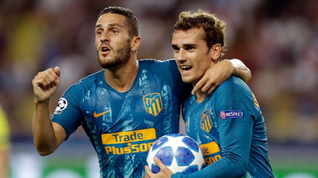 Atletico Madrid beat Monaco 2-1.
