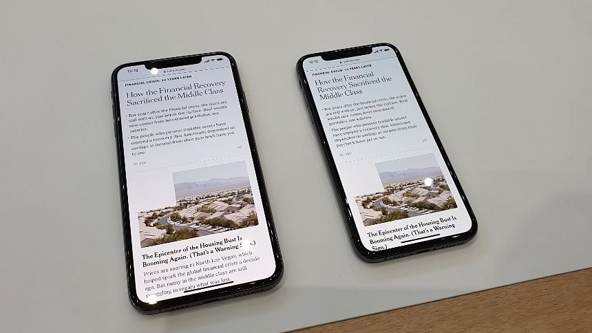 Hopefully with iOS 12, the notch design experience will be better.