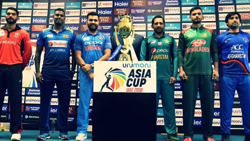 Asia Cup 2018: Captains of six cricket teams participating in Asia Cup,