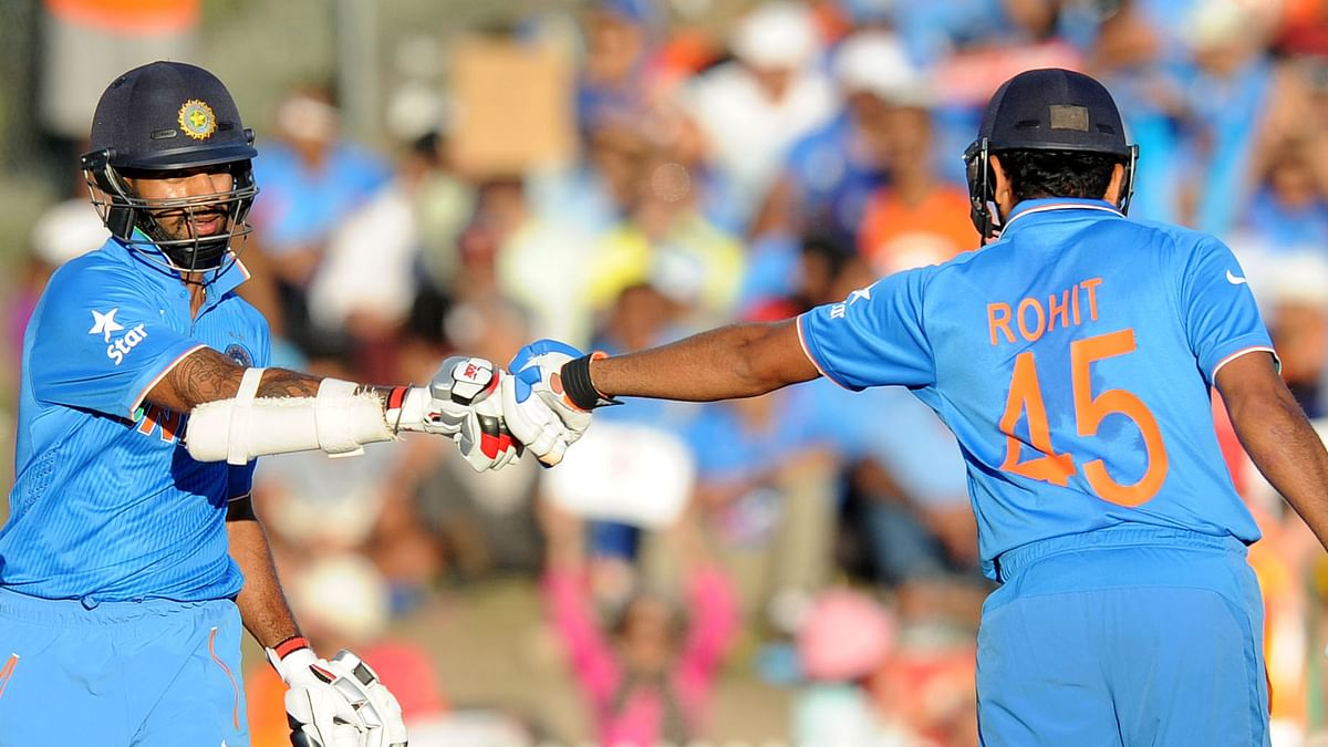 Rohit Sharma and Shikhar Dhawan have been India's top pick for the opening slot in the shorter formats for over half a decade.
